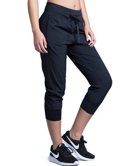 223dc964b5a5 Marika Black Elite Capri Joggers - Women