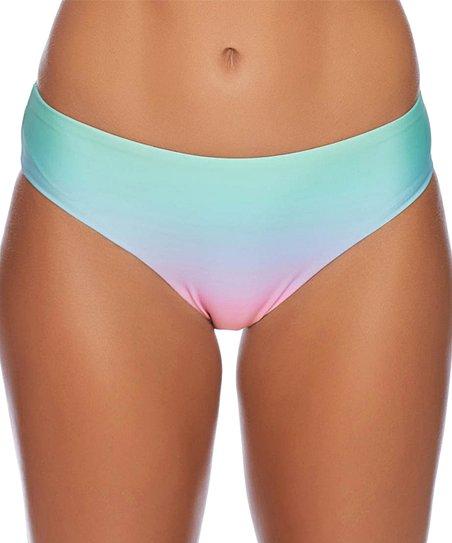 7dd6904074 love this product Mint   Pink Malibu Sunset Retro Bikini Bottoms - Plus