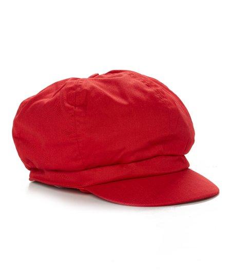 9892f62d DNMC Red Newsboy Cap | Zulily