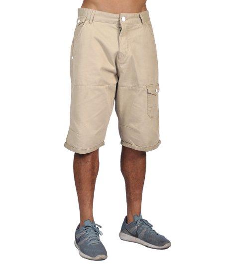 Worior Cream Shorts Men Cargo l13KTFcJ