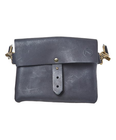Pretty Simple Black Festival Leather Belt Bag  546858b8cf01a