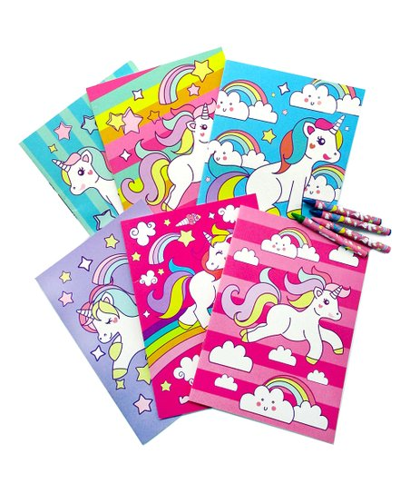 Baseline Global Unicorn Coloring Book & Crayons | Zulily