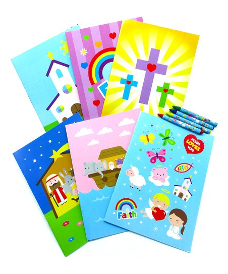 Baseline Global Religious Coloring Book & Crayons | Zulily