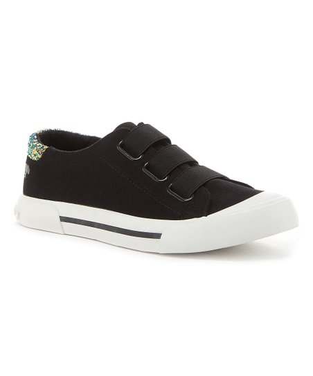 WomenZulily Canvas Black Dog Jamaica Sneaker Rocket 9DIWEH2