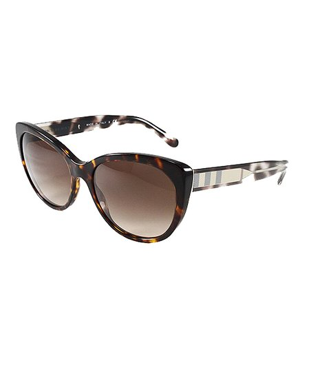 05b229f38b19 Burberry Dark Havana   Brown Gradient Cat-Eye Sunglasses