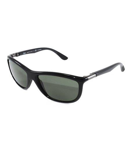 21440dc4c31da Ray-Ban Black Polarized Sport Sunglasses - Unisex