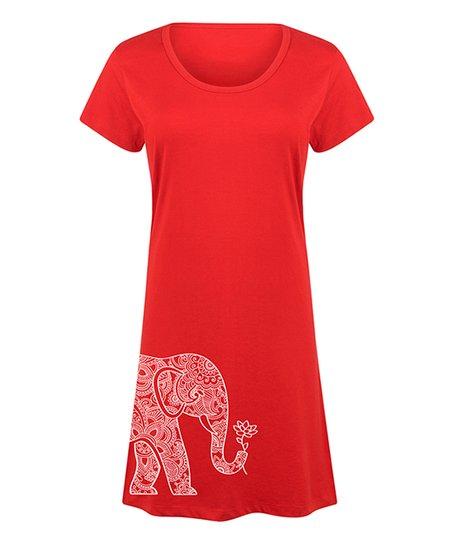 Red Elephant Dresses
