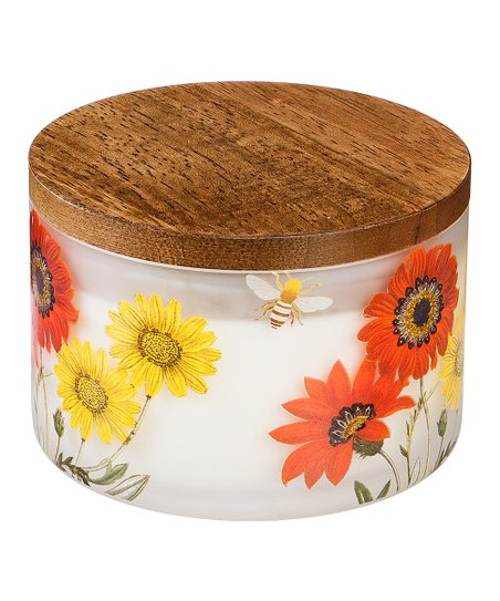 Z-Fence Red Floral Citronella Candle | Zulily