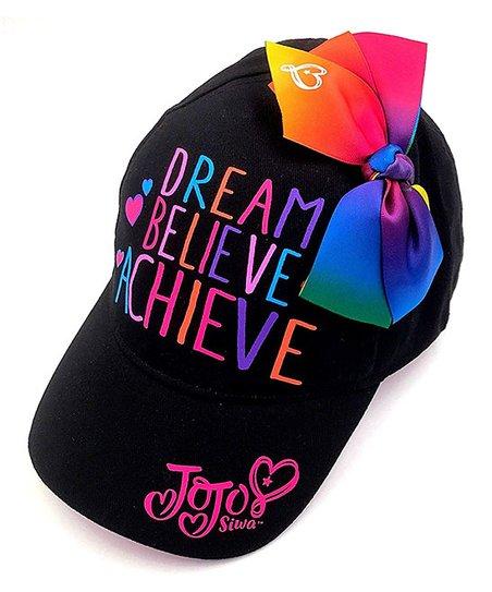 0bda9b48bf205 ABG Accessories Jojo Siwa Hat with Rainbow Bow