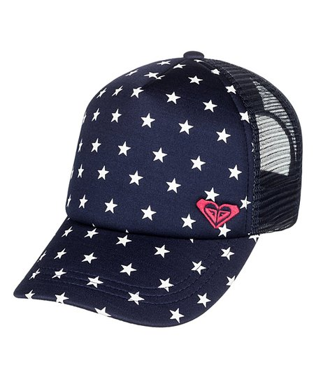 871562f4d58 Roxy Dress Blues 4th of July Just OK Trucker Hat