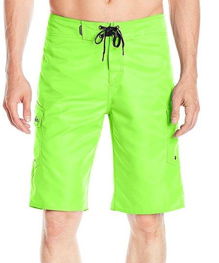 neon green shorts mens