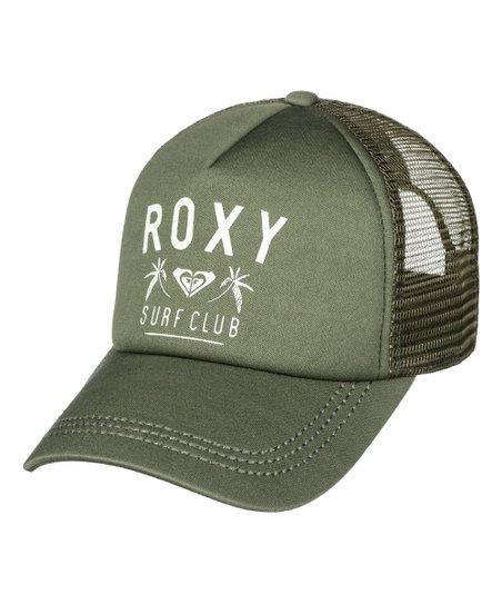 Roxy Olive Truckin Trucker Hat  7d4ddbb953b