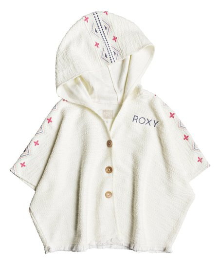 Roxy Marshmallow Moonlight Waves Hooded Poncho - Toddler & Girls