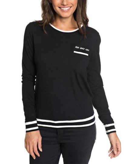 9ce5ecba4e1 love this product True Black  Mountains   Waves  Next Vacation Long-Sleeve  Top - Juniors