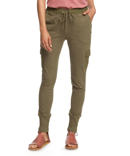 129e2b8f6 love this product Burnt Olive Beautiful Rhyme Cargo Joggers - Women &  Juniors