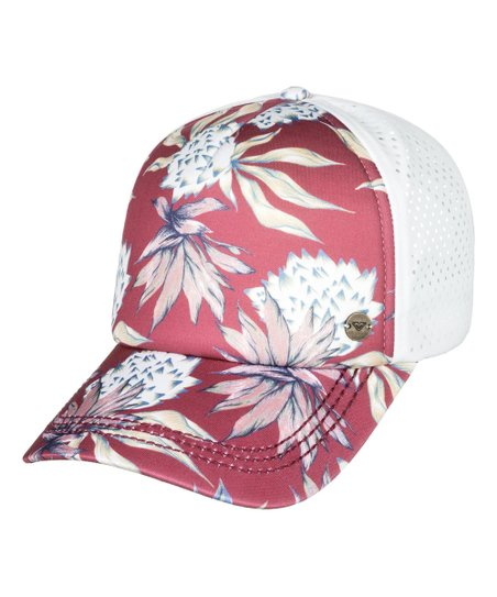6c58dc649d189 Roxy Holly Berry Swim Waves Machines Trucker Hat