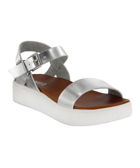 affff36e64c love this product Silver Abby Sandal - Women