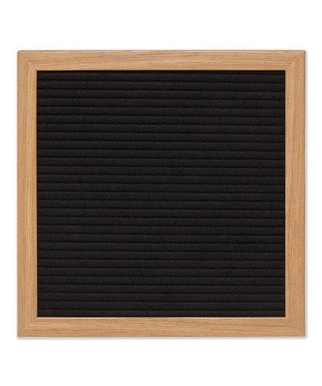 10 black felt letter board