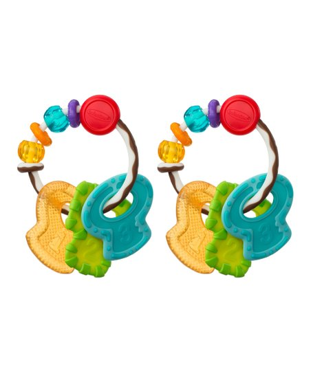 Infantino Cool   Chew Teether Keys - Set of Two  0d60c6035