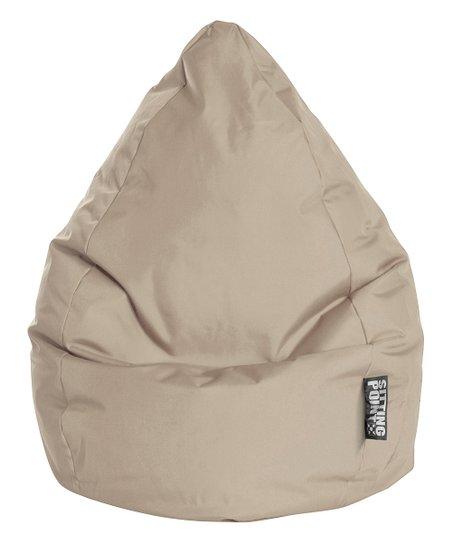 Admirable Gouchee Home Khaki Brava Bean Bag Chair Zulily Short Links Chair Design For Home Short Linksinfo