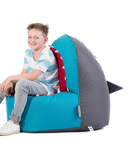 Gouchee Home Gray Shark Brava Bean Bag Chair Zulily