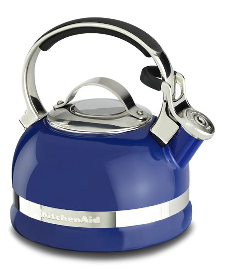 Blue 2 Qt. Stove Top Kettle With Full Stainless Steel Handle