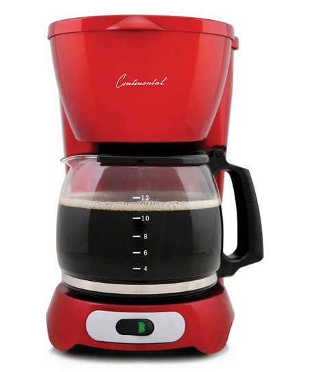 Continental Red Metallic 12 Cup Coffee Maker Zulily