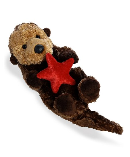 Aurora World 8 Otto Sea Otter Plush Toy Zulily