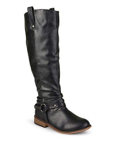8c081c9ed9b Brinley Co. Black Walla Extra Wide-Calf Boot - Women
