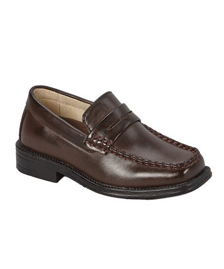aa2ab4f5af9 Easy Strider Brown The Penny Classic Loafer - Boys