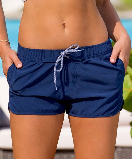 love this product Navy Swim Shorts - Women 30e4d653e4