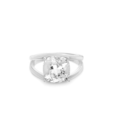 8f3f357f2 love this product Sterling Silver Split Shank Ring With Swarovski® Crystals