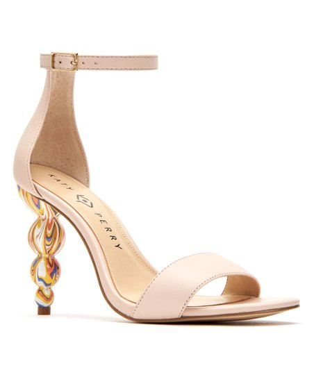 Katy Perry Footwear Nude The Tabitha Leather Sandal Women
