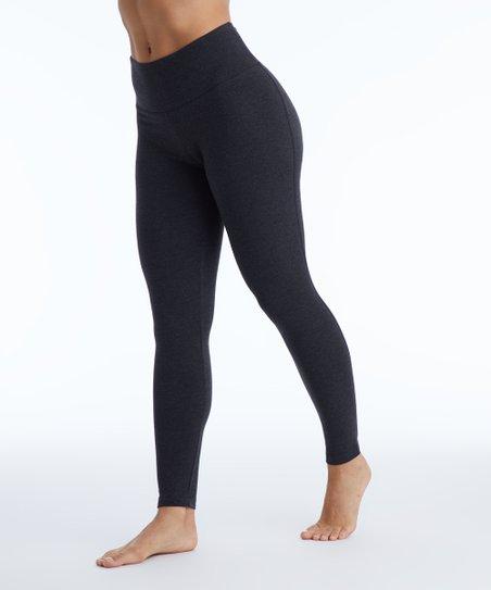 cf84318c0 love this product Heather Charcoal High-Waist Tummy-Control Leggings - Women