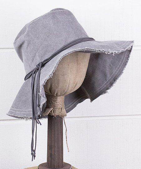 c64d5c770 ReLoved Gray Nicole Floppy Hat