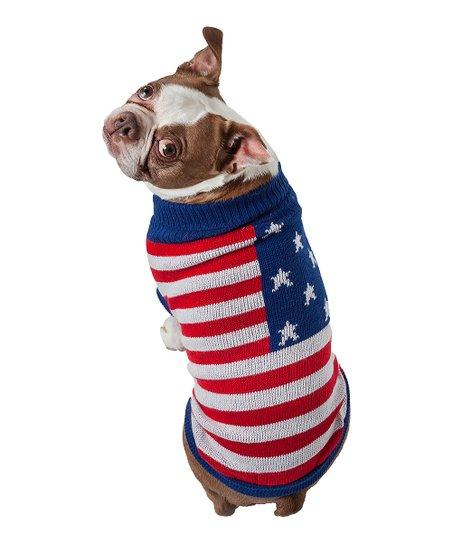 dd992ac627dd Pet Life Patriot Dog Sweater
