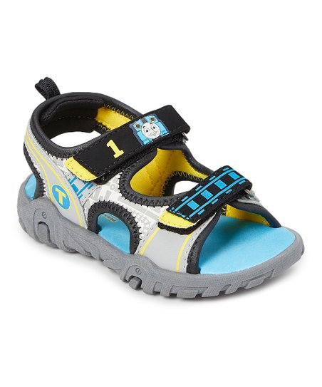 c74b78ddc1af2 Esquire Footwear Thomas the Tank Engine Blue & Yellow Sandal - Boys