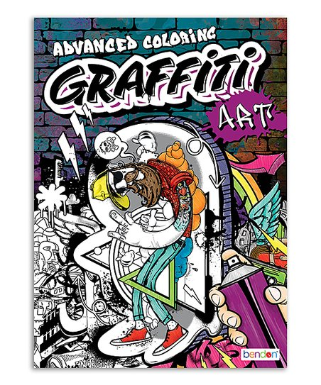 Bendon Publishing International, Inc. Advanced Coloring Graffiti Art ...