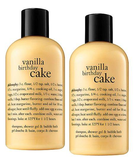 Love This Product Vanilla Birthday Cake 16 Oz Shampoo Shower Gel Bubble Bath