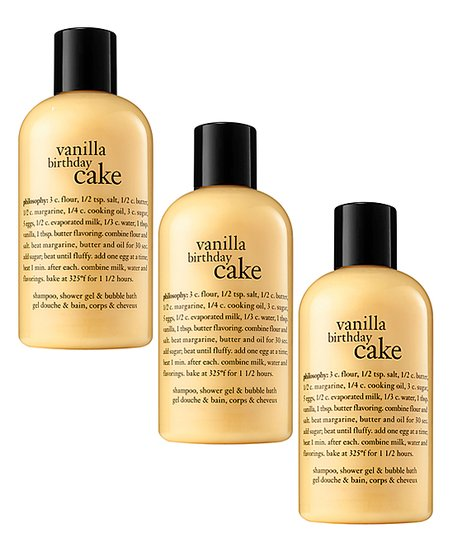 Love This Product Vanilla Birthday Cake 16 Oz Shampoo Shower Gel Bubble Bath