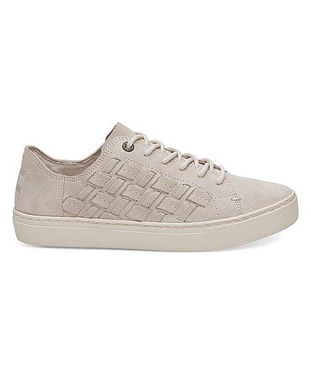 c2cc480caf5 TOMS Birch Basketweave Suede Lenox Sneaker - Women