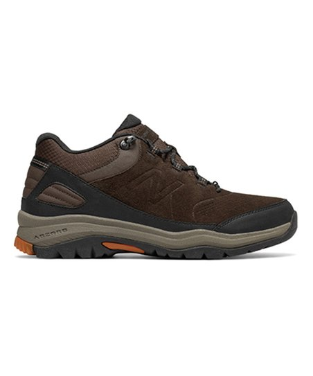086729254bdc1 New Balance Brown 779v1 Neutral Cushioning Trail Suede Walking Shoe ...