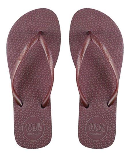 75c8d0756109 love this product Burgundy Flip-Flop - Women