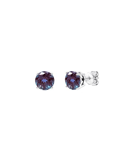 e5763c062 V3 Jewelry® Color-Changing Alexandrite & Sterling Silver Round-Cut ...