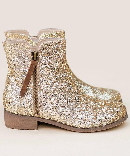 Joyfolie Gold Kaitlin Ankle Boot   Best