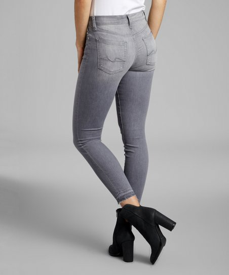 2018 sneakers search for latest select for best 7 For All Mankind Lanciano Gray Gwenevere Released-Hem Ankle Skinny Jeans -  Women