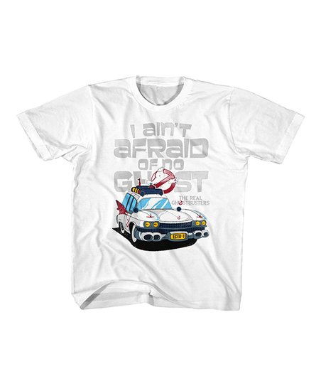 962f5a28f love this product White The Real Ghostbusters Ain't Afraid of No Ghost T- Shirt - Toddler & Kids