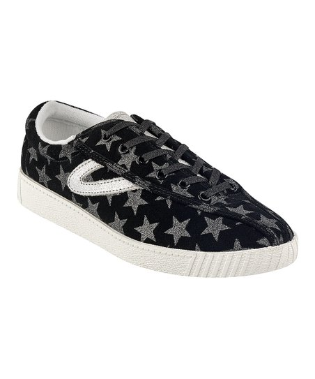 Tretorn Black Star Nylite 25 Plus Sneaker Women
