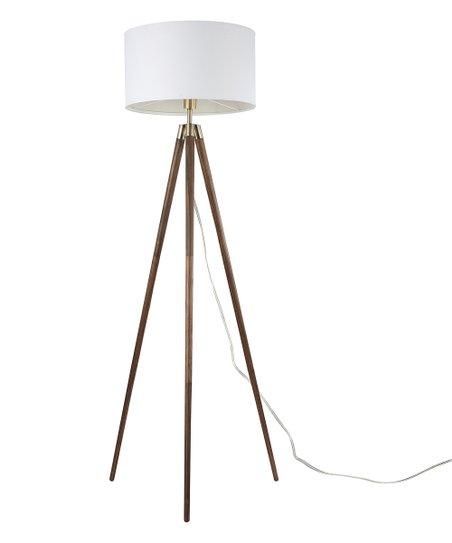 Edgemod Walnut Celeste Tripod Floor Lamp Zulily
