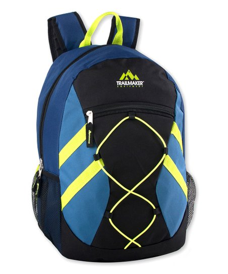 Trailmaker Blue Bungee Backpack | Zulily